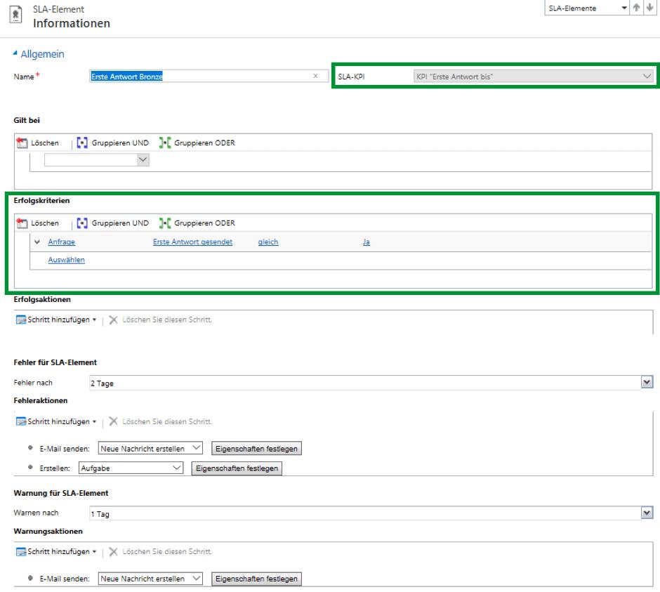 SLA-Detail-Formular